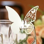 Butterfly Glass Place Cards