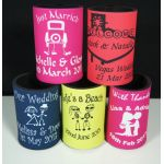 Personalised Neoprene Stubbie Coolers