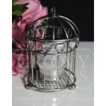 Antique Zinc Miniature Birdcages